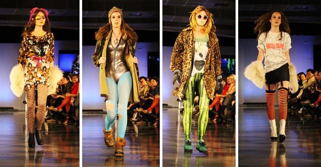 Value Village Presents Thrift Chic Challenge Dandi Wind EFW07, Eco Fashion Week, Runway Show