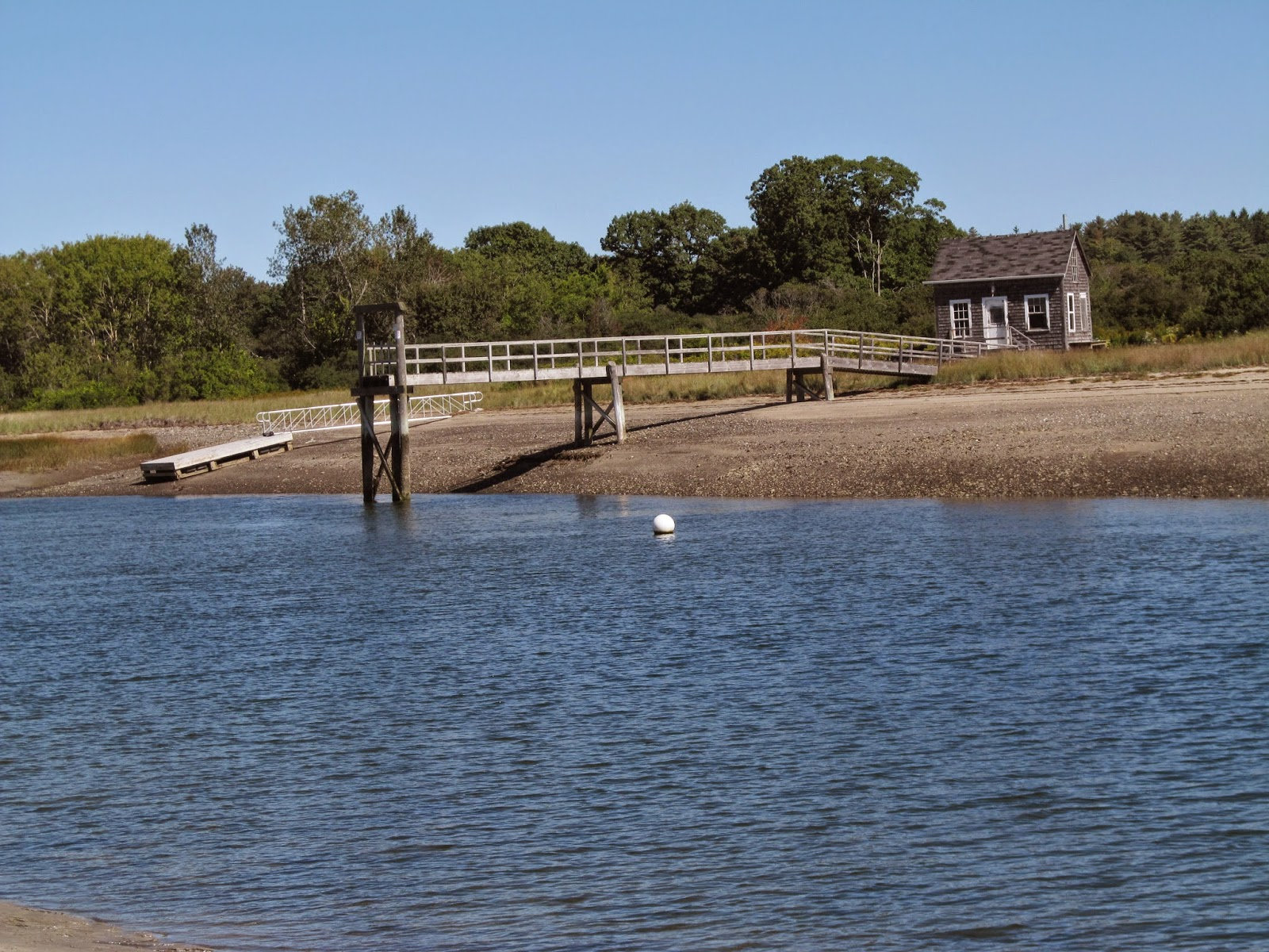 Recreational kayaking in maine spurwink river cape elizabeth if you are paddling close to low tide after passing this small buildingdock i would recommend pulling off to the right side in the sand and take your nvjuhfo Image collections
