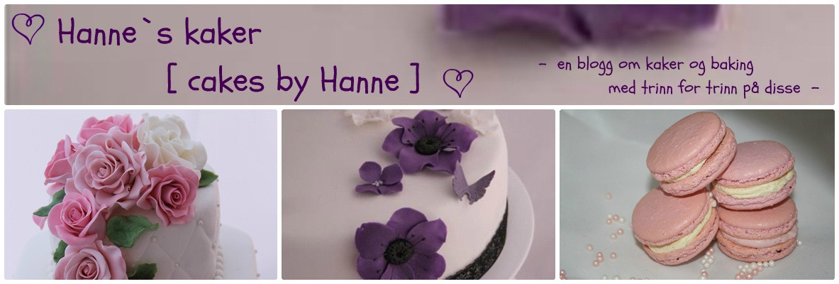 Hanne`s kaker - [ cakes by Hanne ]