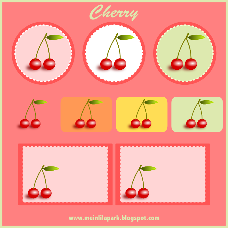 some cherries – one of my favorite fruits. I created some cherry ...