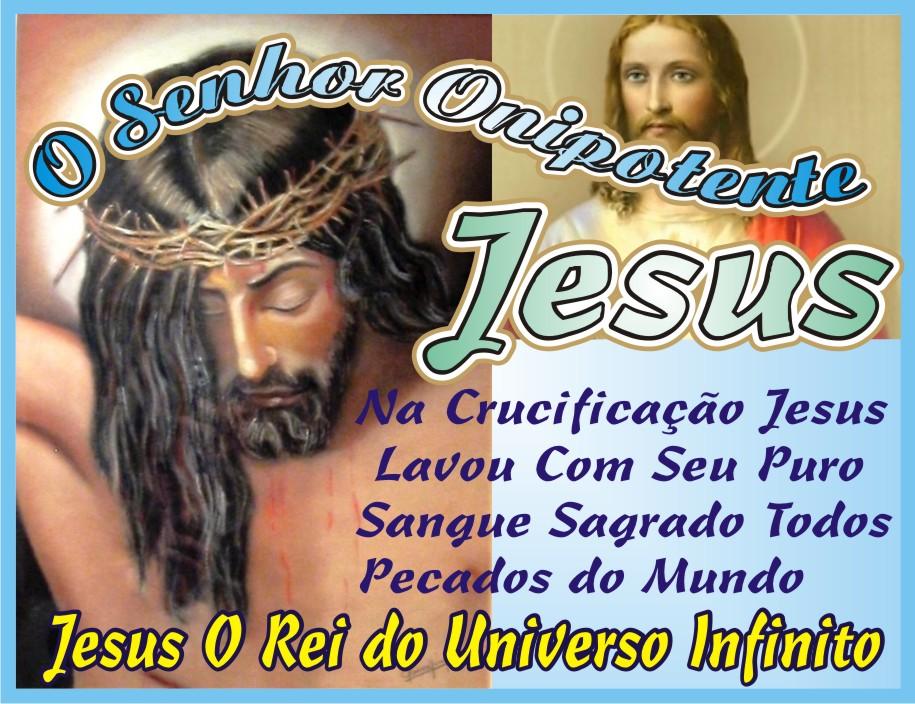 Lavou Com Seu Puro Sangue Sagrado Todos Pecados do Mundo