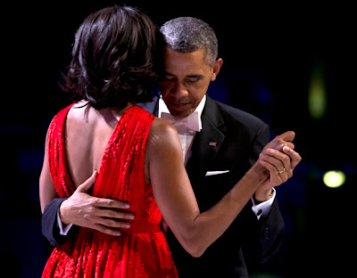 Barack Obama Dances With Michelle at Inaugural Ball