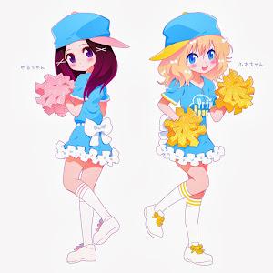 ゆるふわレコーズ オフィシャルキャラクター 「ゆるちゃん、ふわちゃん」