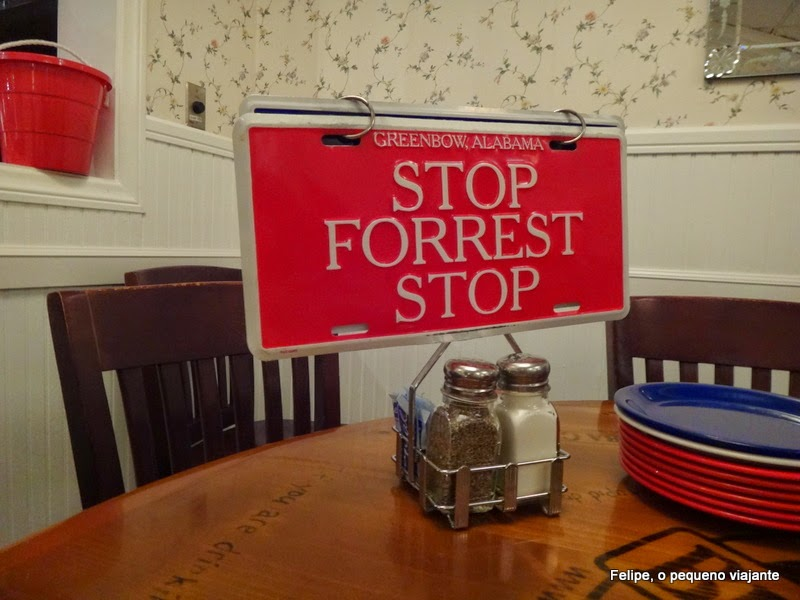 Bubba Gump, Rainforest Cafe, Red Lobster e outros ...