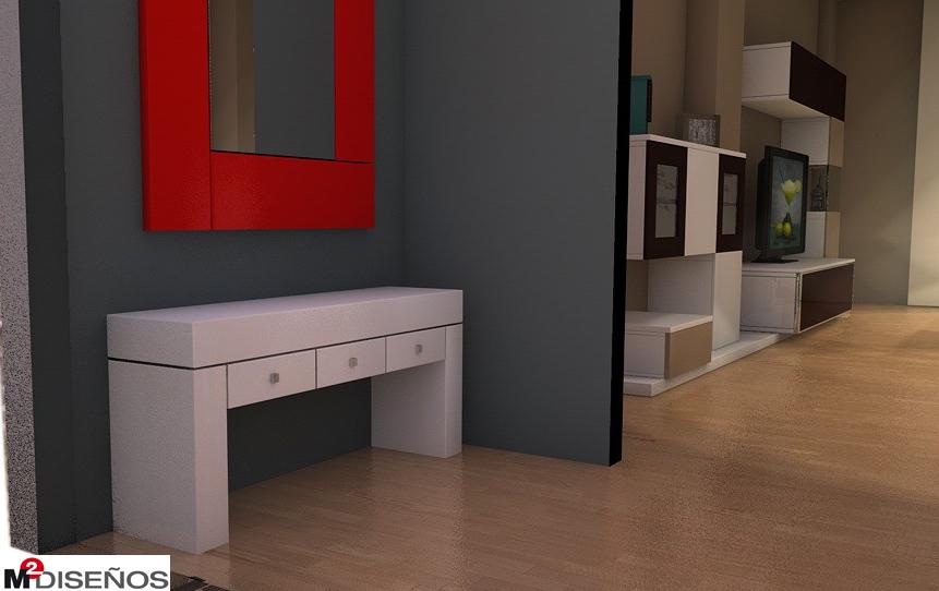 Muebles para entradas de pisos materiales de - Muebles entrada baratos ...