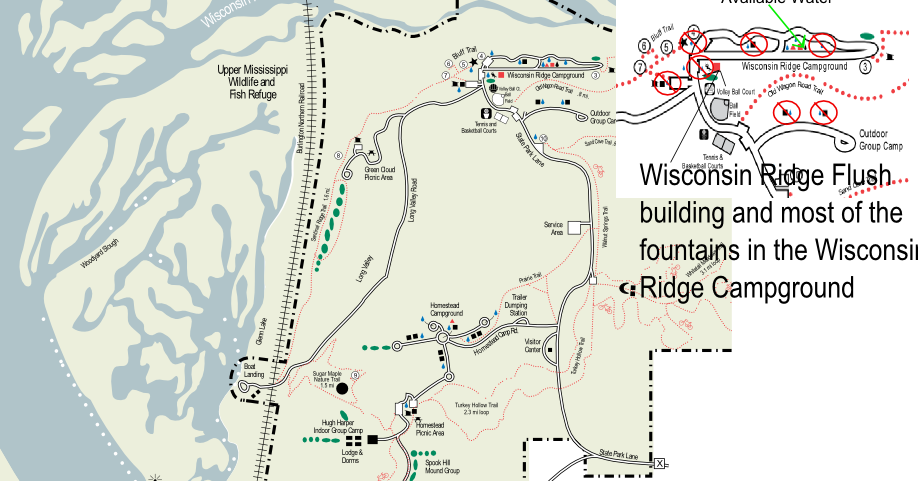 Water Shut-Down on Wisconsin Ridge ~ Friends of Wyalusing State Park