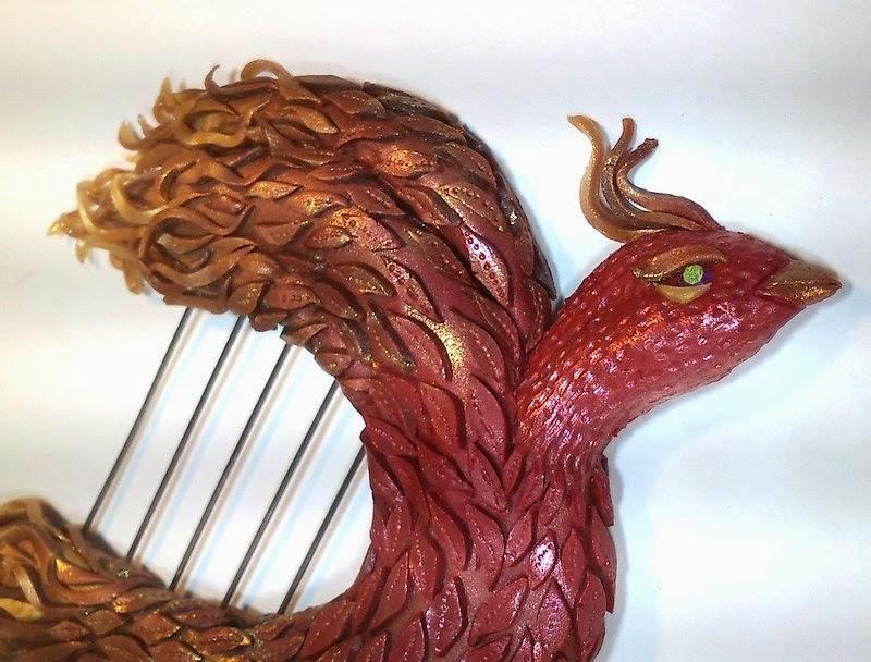 goddesses, gods, Cliodhna, harp, harfa