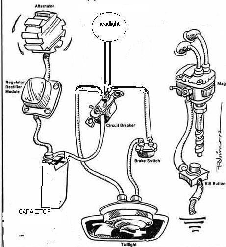 phone wiring diagram magneto