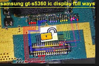 Samsung 5360 white lcd screen and their solutions
