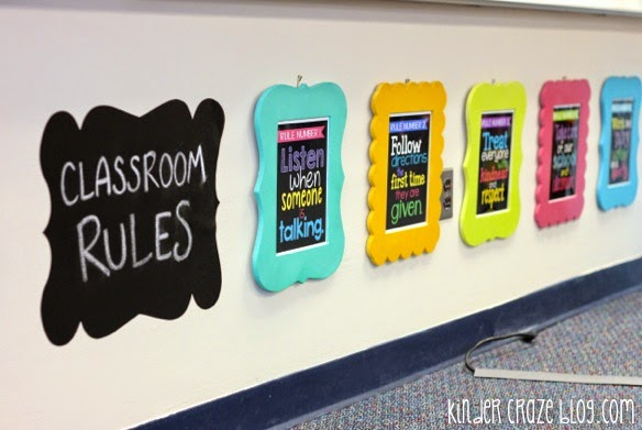 adorable classroom rules!