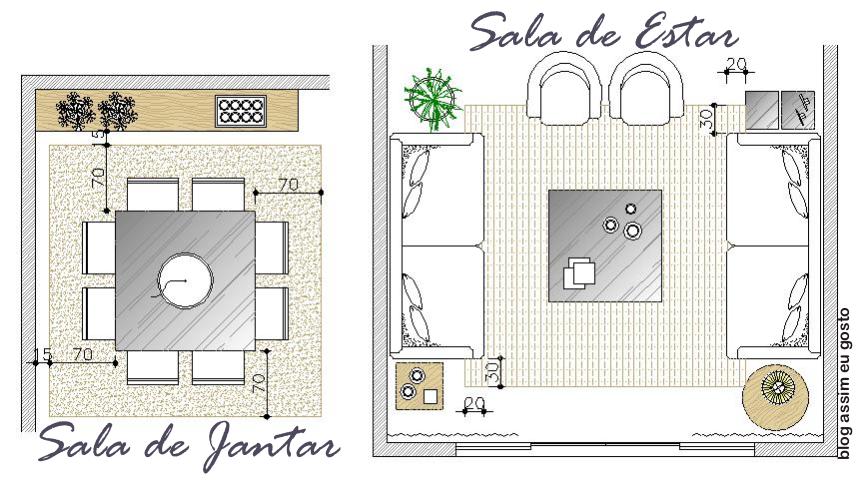 Tamanho Ideal De Sala De Tv ~  lavender thoughts Tapetes  Um Guia para escolher o tamanho certo