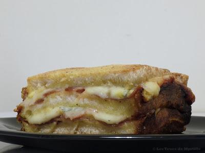 Croqu'cake #2 - Morbier et jambon cru (voir la recette)