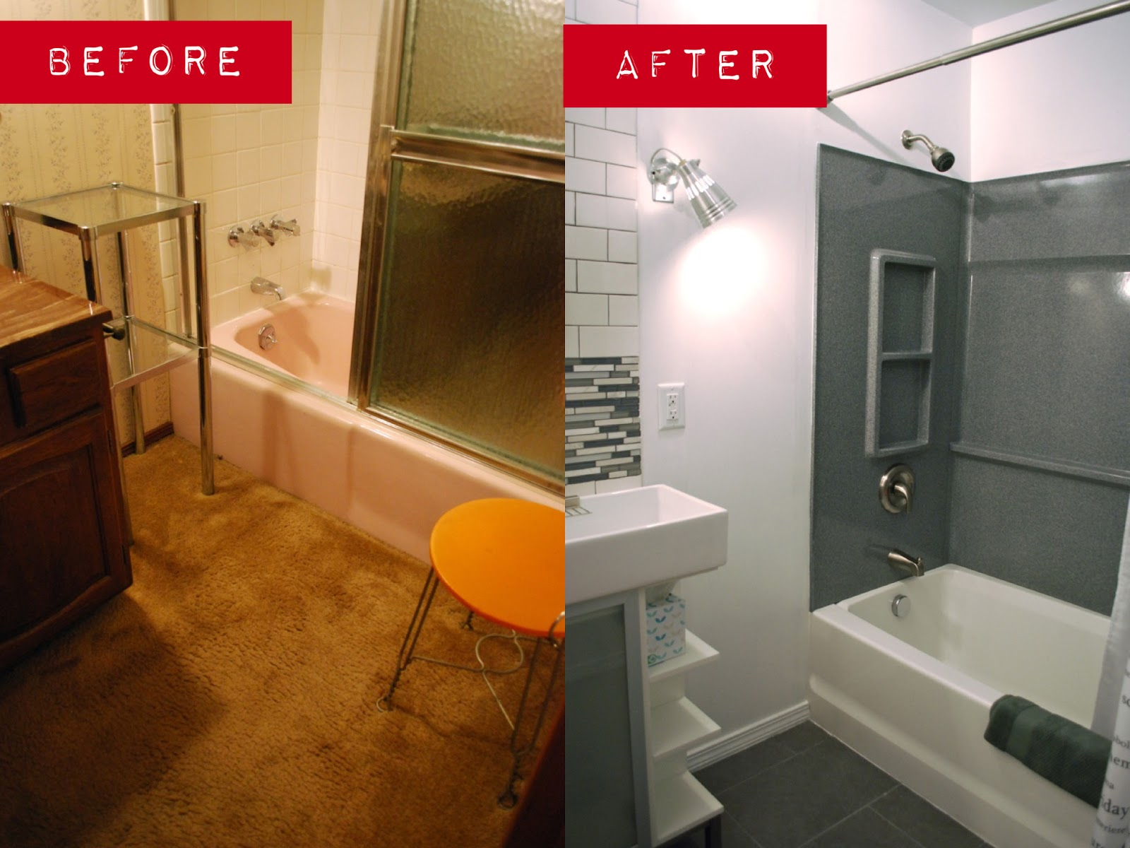 Jen And Ink We Bought A Fixer Guest Bathroom Gut - How to gut a bathroom