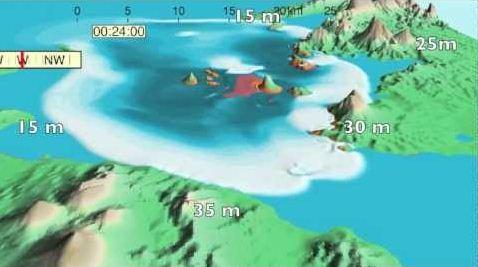 Tsunami Krakatau 1883 Lebih Dahsyat dari Tsunami Aceh 2004