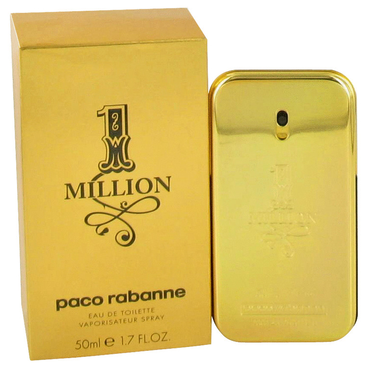 1 Million Cologne by Paco Rabanne - 1.7 oz Eau De Toilette Spray