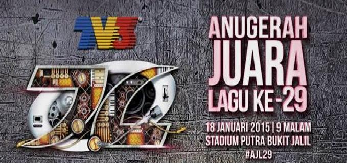 Anugerah Juara Lagu AJL29 TV3 18 Januari 2015
