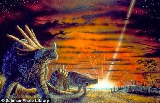 Asteroid dan Kepunahan Hewan di Bumi