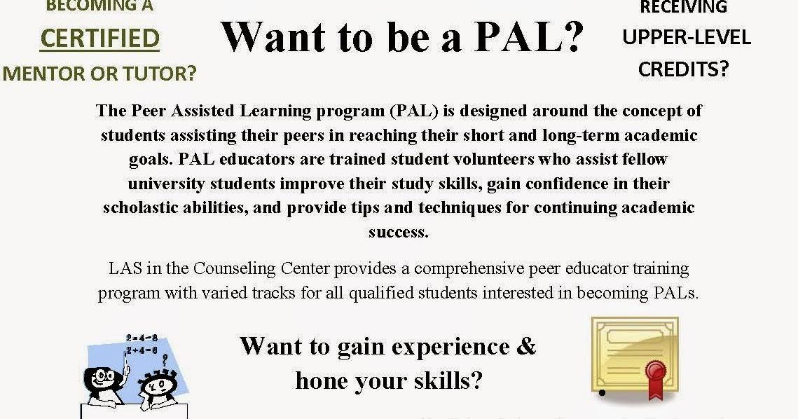 CCJS Undergrad Blog: LAS - Peer Educator Training Certification Program