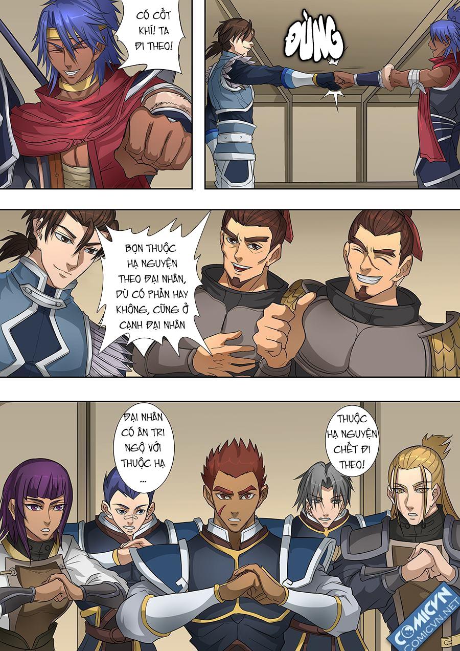 Đường Dần Tại Dị Giới Chap 145 - Trang 8