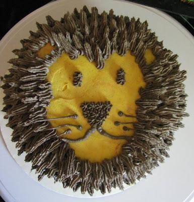 Lion cake | Retro Gran
