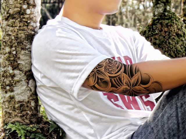tato9 Membuat Tato warna hitam dengan photoshop