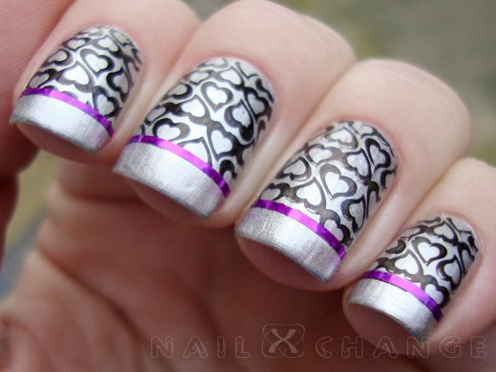 Nail Designs Using Striping Tape