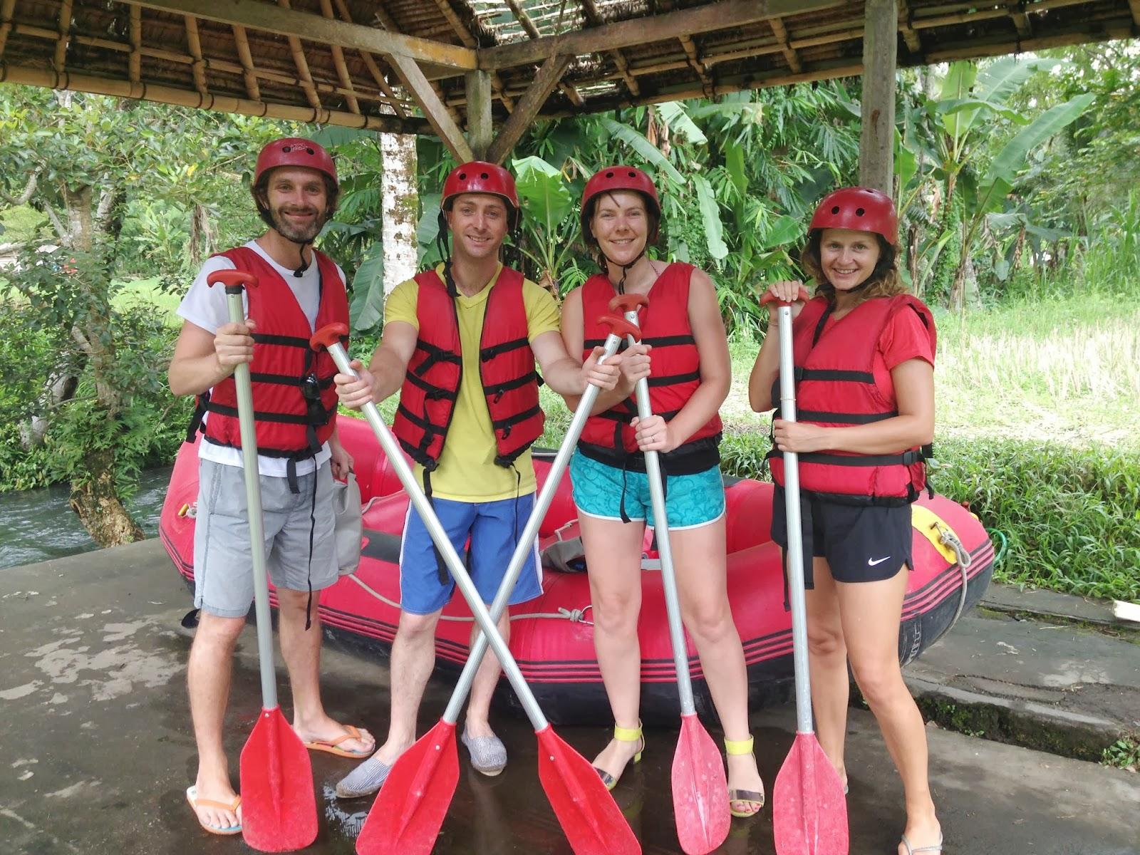 white water rafting seminyak bali indonesia