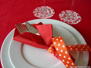 decoración de mesa para san valentin