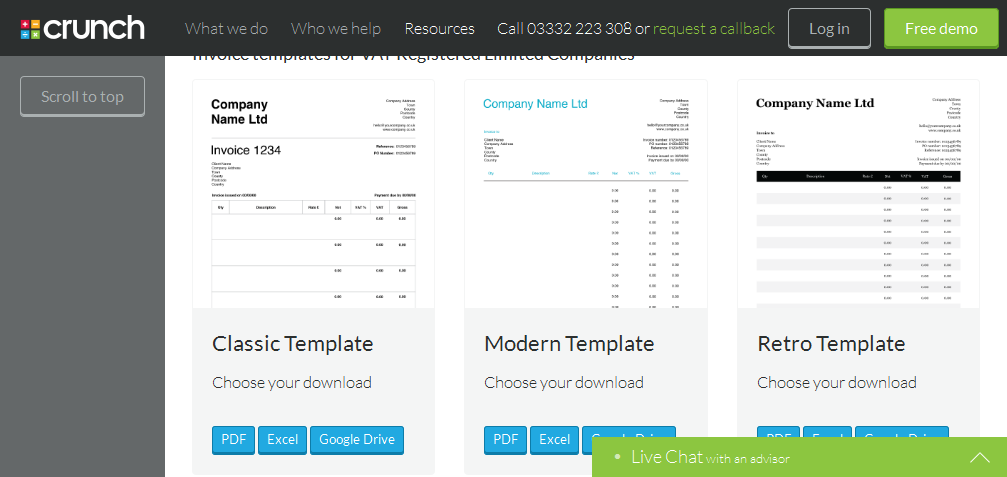Free Invoice Template  Make an invoice to print or