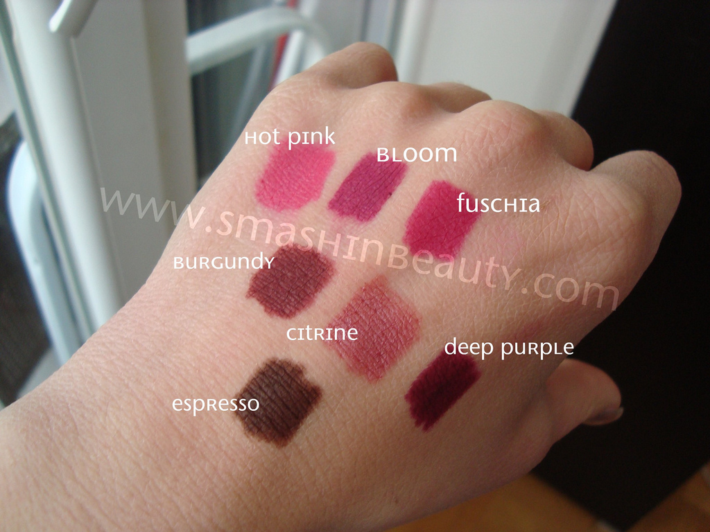 Nude lip liner/lipstick swatches : PaleMUA