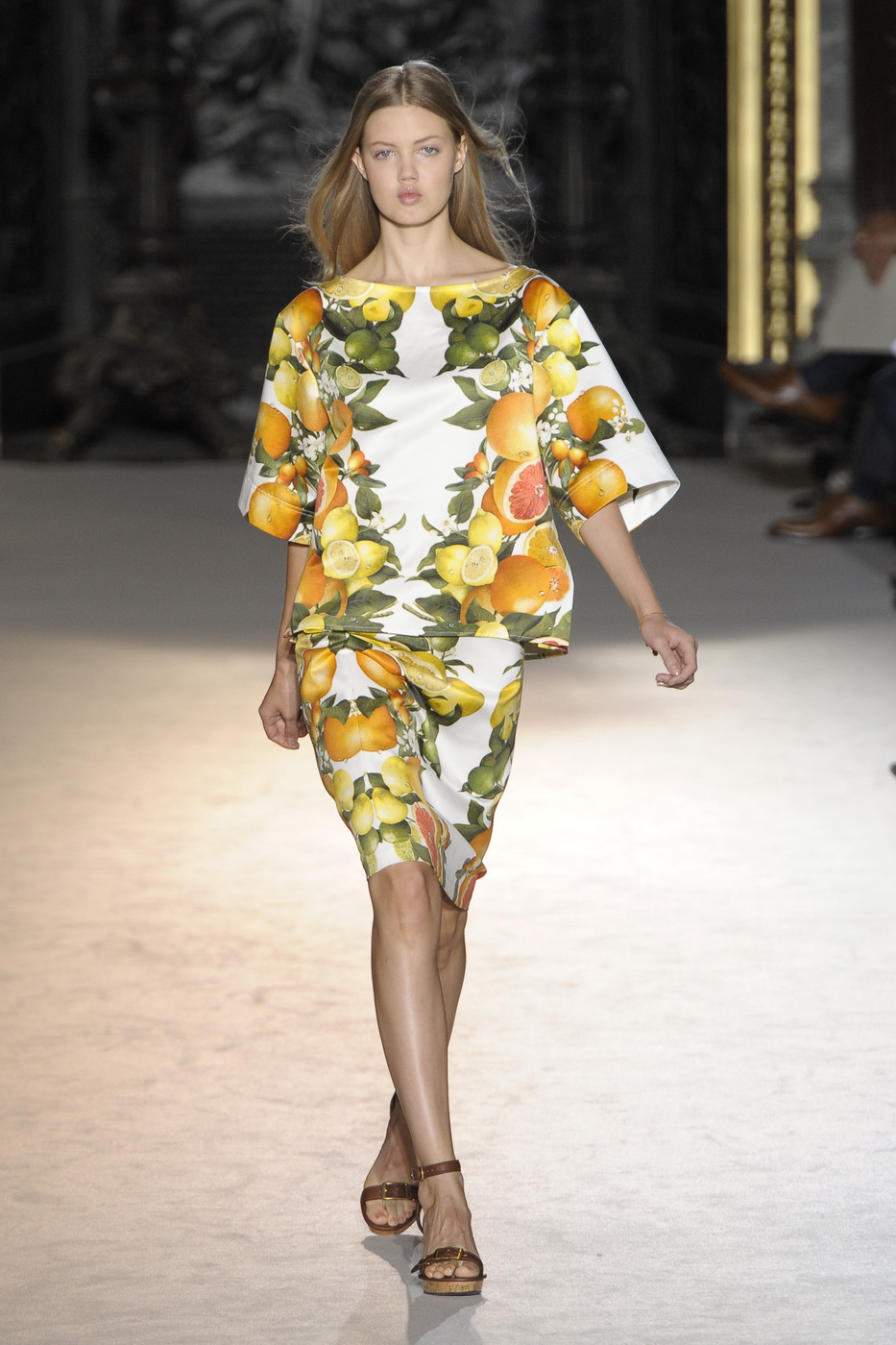 via fashioned by love | Stella McCartney Spring/Summer 2011 | floral trend