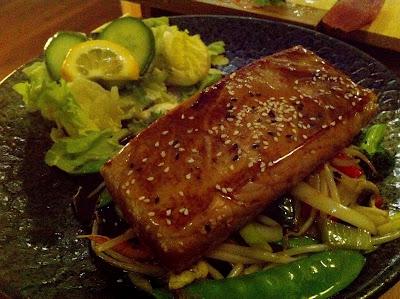 Stitch and Bear - Teriyaki tuna at Mushashi
