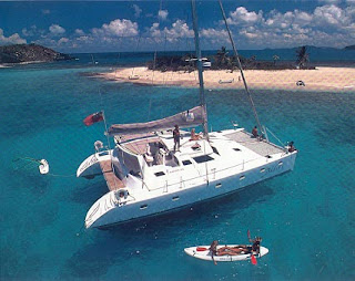 Catamaran Sailboat Charter Vacation in the British Virgin Islands