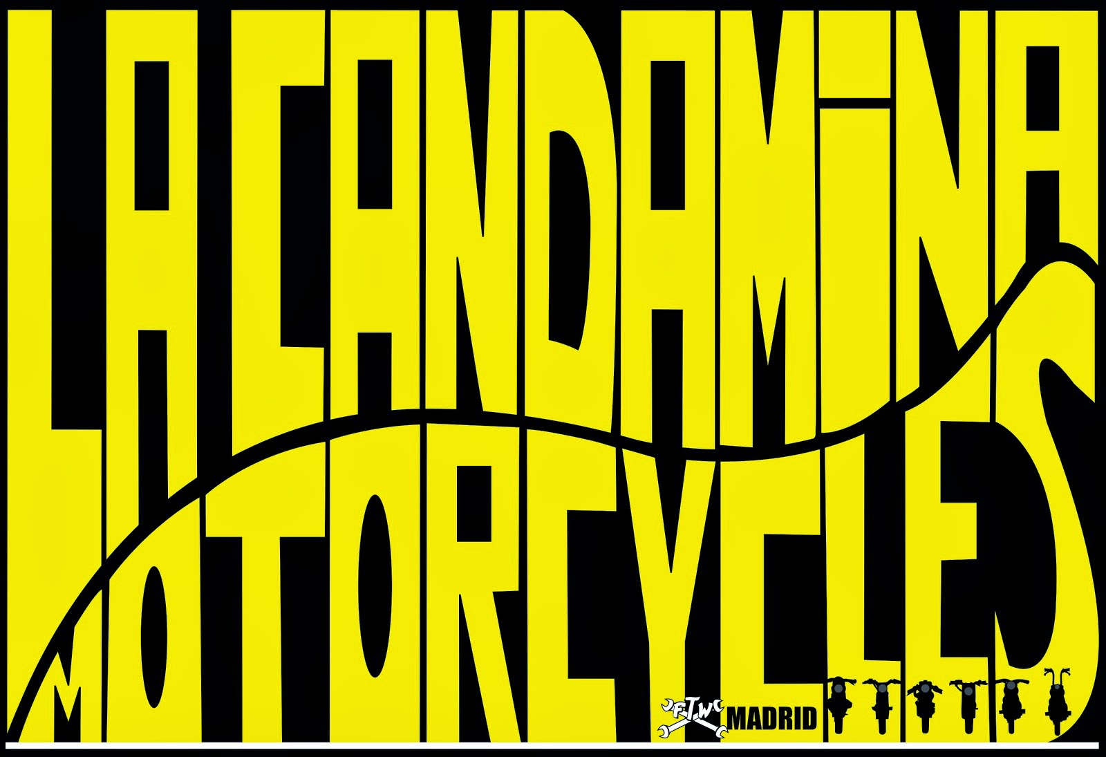 La Candamina Motorcycles. Madrid