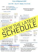 2020 Schedule