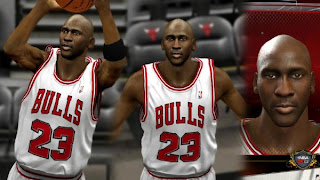 NBA 2K13 Michael Jordan Cyber Face PC