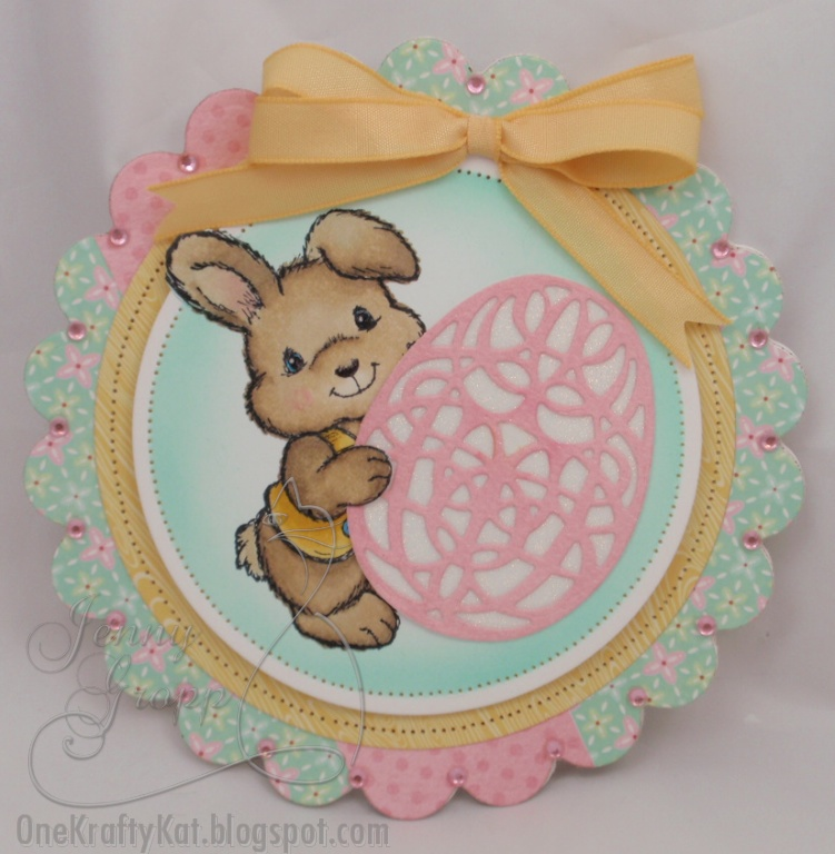 Serendipity Stamps Blog Tutorial Glitter Easter Egg Die Cut Card – Easter Stamps Card Making