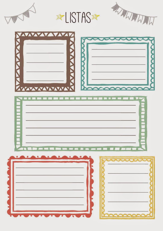 Agenda2015_notas y listas