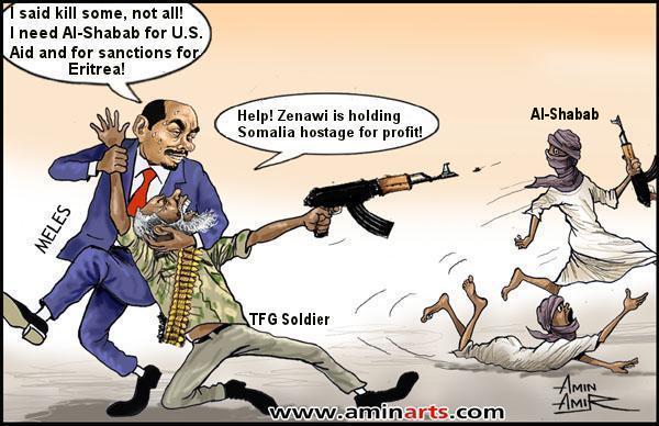 Image result for al-Shabab CARTOON