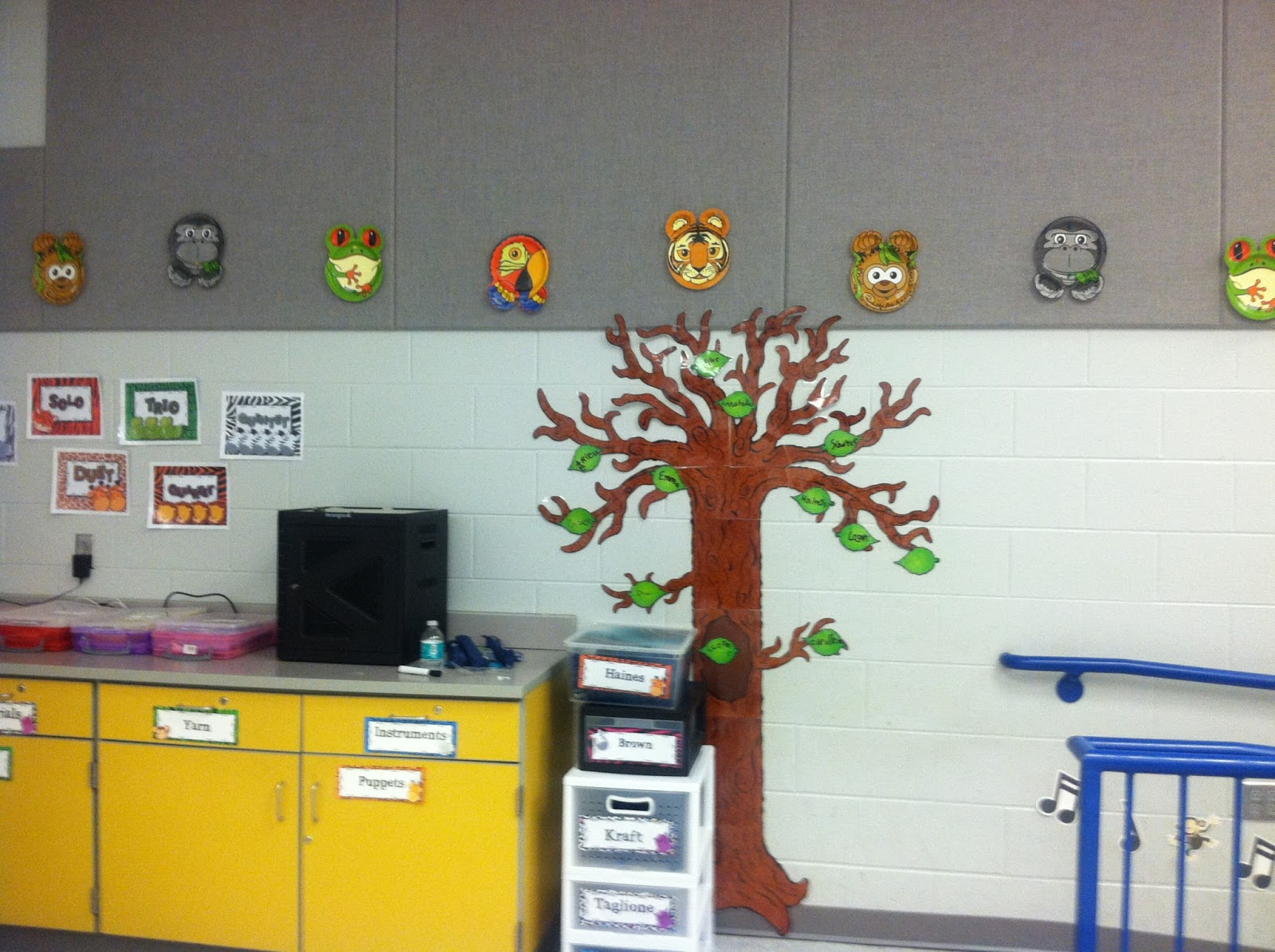 Classroom Wall Design Ideas ~ Classroom reveal mrs miracle s music room
