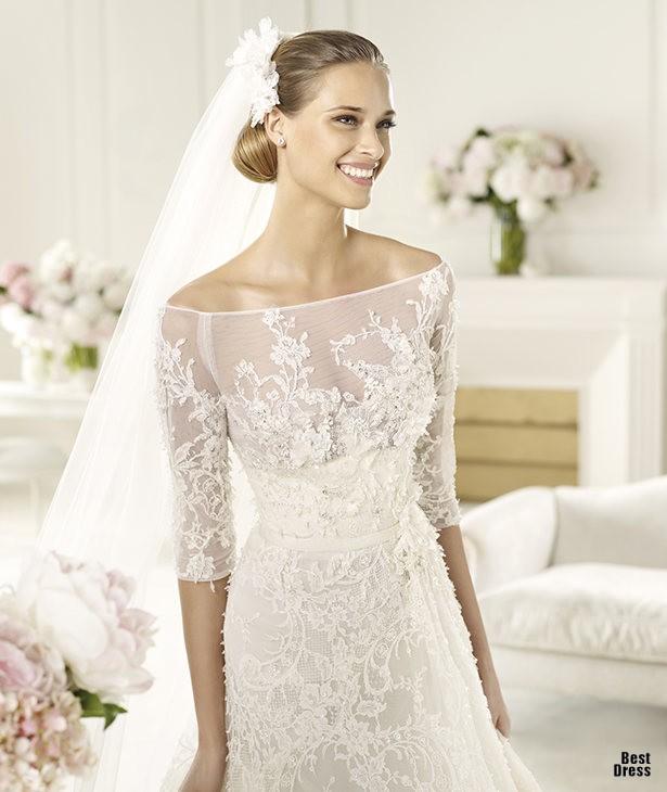 vestid de noiva com mangas
