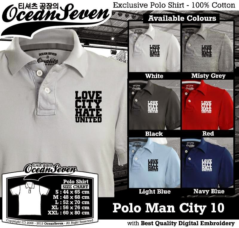 Kaos Polo Man City 10
