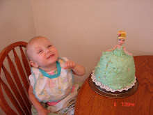 Kendyllee with her Tinkerbell Cake B-Day #2