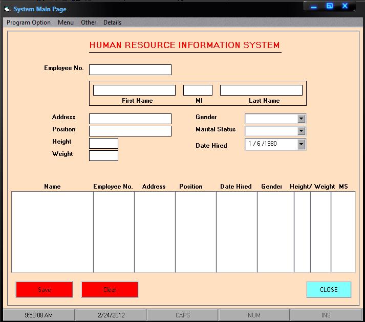 Payroll system thesis vb6