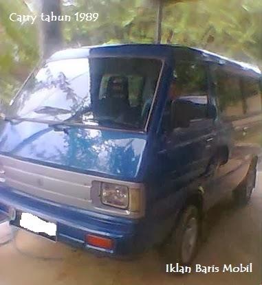 Dijual - Suzuki carry tahun 1989, Iklan baris mobil