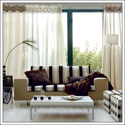 Decore tipo adequado de cortina para sua casa - Tipos de visillos ...
