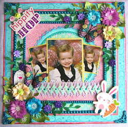 This layout won at Funtoolas for March Bling Challenge