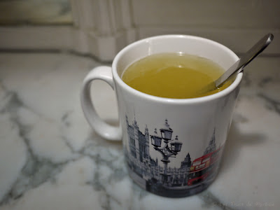 Citron chaud au miel (grog sans alcool)
