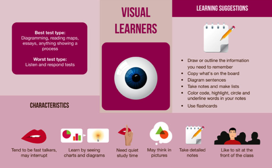 a visual learners profile Learner profile  template  learner profile   using this learner profile tool will help you get a better understanding of  visual, auditory, and kinaesthetic).
