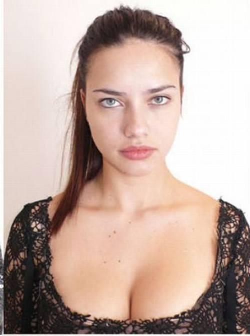 WITHOUT MAKEUP CELEBRITIES: Adriana Lima Without Makeup - Without Makeup
